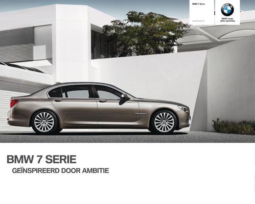 Brochure BMW 7-serie (2009)