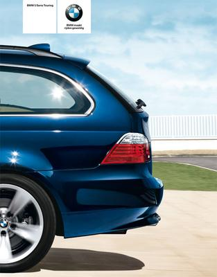 Brochure BMW 5-serie Touring (2009)