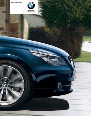 Brochure BMW 5-serie (2009)