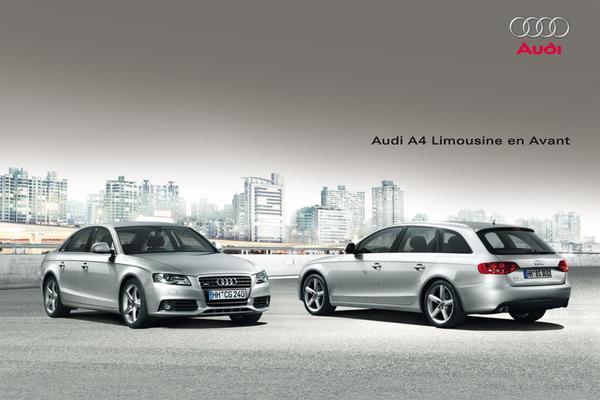 Brochure Audi A4 2009