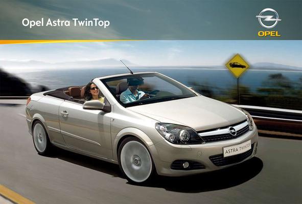 Brochure Opel Astra TwinTop (2008)