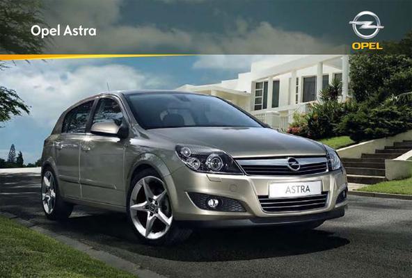 Brochure Opel Astra (2008)