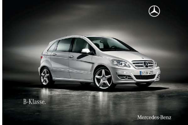 Brochure Mercedes-Benz B-klasse (2009)