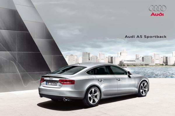 Brochure Audi A5 Sportback (2009)