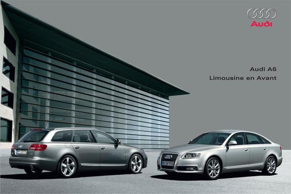 Brochure Audi A6 (2009)