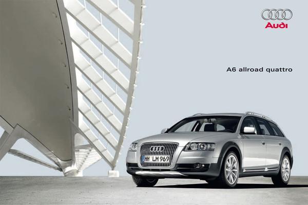 Brochure Audi A6 Allroad (2009)