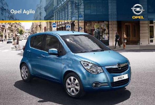Brochure Opel Agila (2009)