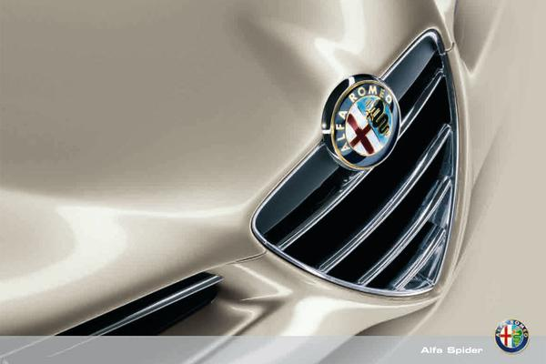 Brochure Alfa Romeo Spider (2008)