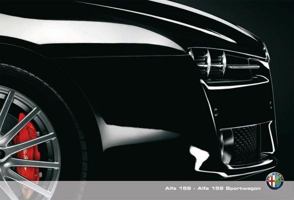 Brochure Alfa Romeo 159 (2008)