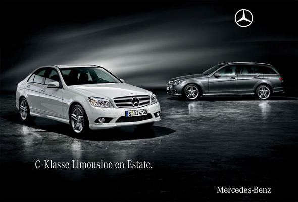 Brochure Mercedes-Benz C-klasse (2009)