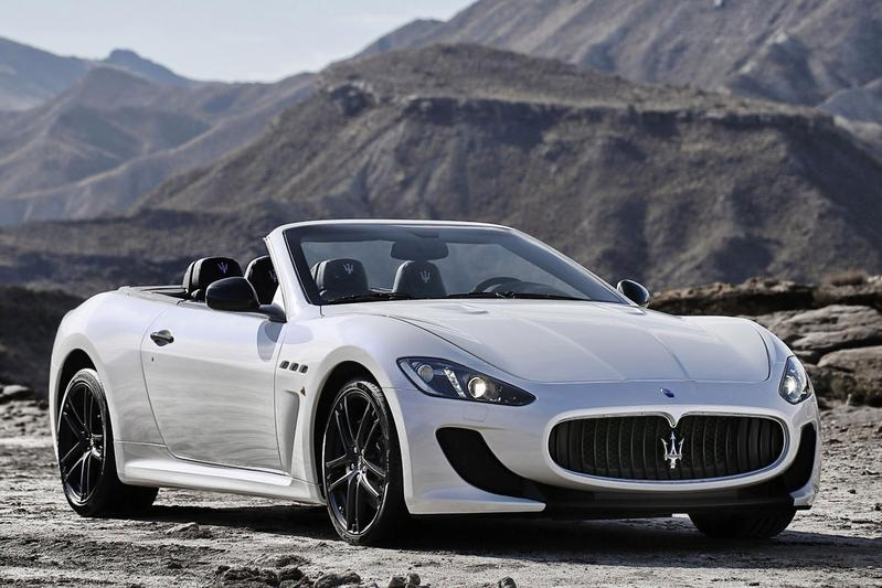 Maserati neemt GranCabrio MC mee naar Parijs