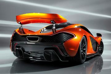 McLaren P1 heeft een hele grote