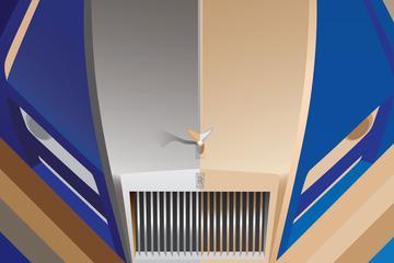 Rolls-Royce flirt met Art Deco