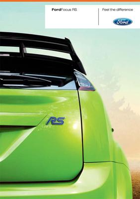 Brochure Ford Focus RS (2009)
