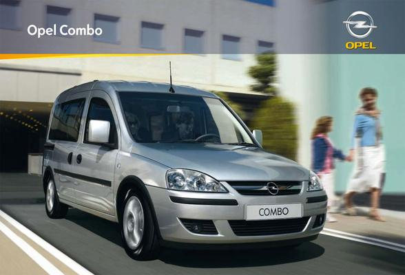 Brochure Opel Combo Tour (2008)