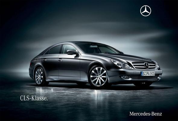Brochure Mercedes-Benz CLS (2009)