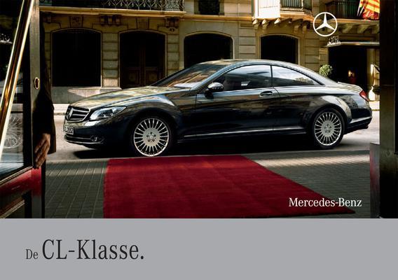 Brochure Mercedes-Benz CL (2008)