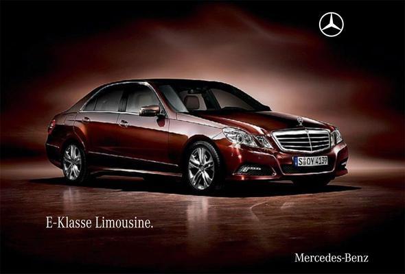 Brochure Mercedes-Benz E-klasse (2009)