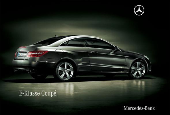 Brochure Mercedes-Benz E-klasse Coupé (2009)