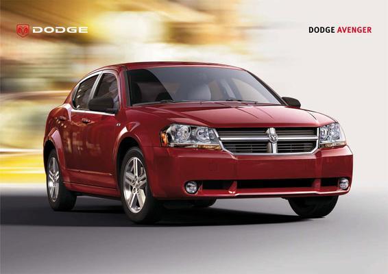 Brochure Dodge Avenger (2007)