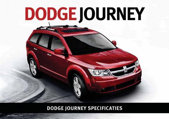 Brochure Dodge Journey (2010)