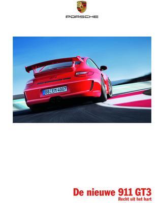 Brochure Porsche 911 GT3 (2008)