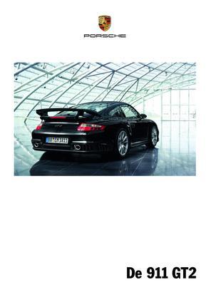 Brochure Porsche 911 GT2 (2008)