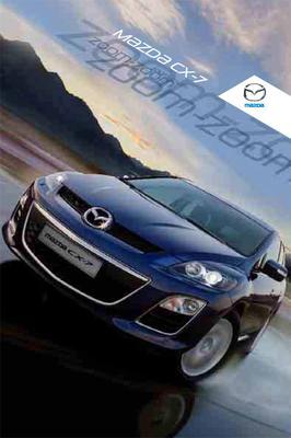 Brochure Mazda CX-7 (2009)