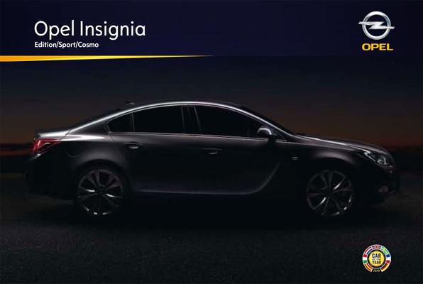 Brochure Opel Insignia (2008)