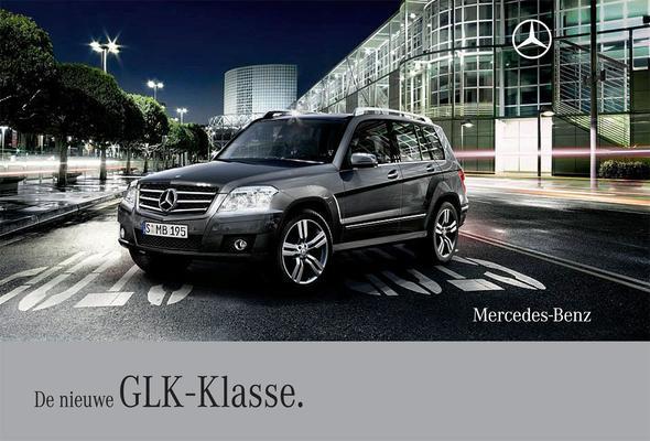 Brochure Mercedes-Benz GLK-klasse (2008)