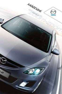 Brochure Mazda 6 (2009)