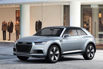 Audi legt namen SQ2, SQ4 en Q9  vast
