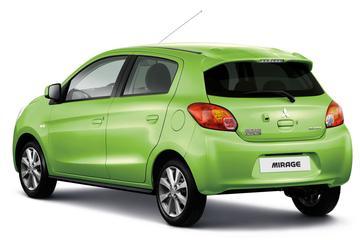Mitsubishi plakt klein prijsje op Mirage