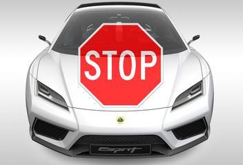 Ook Lotus Esprit richting ijskast