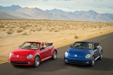 Road trippen met de Volkswagen Beetle Cabrio