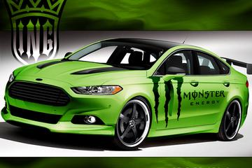 Fords Fusion op z'n SEMA's