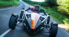 Titanium chassis voor Ariel Atom