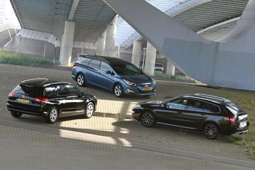 Citroën C5 Tourer - Hyundai i40 Wagon - Renault Laguna Estate