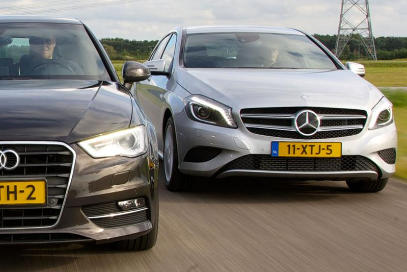 Dubbeltest Audi A3 vs. Mercedes-Benz A-klasse