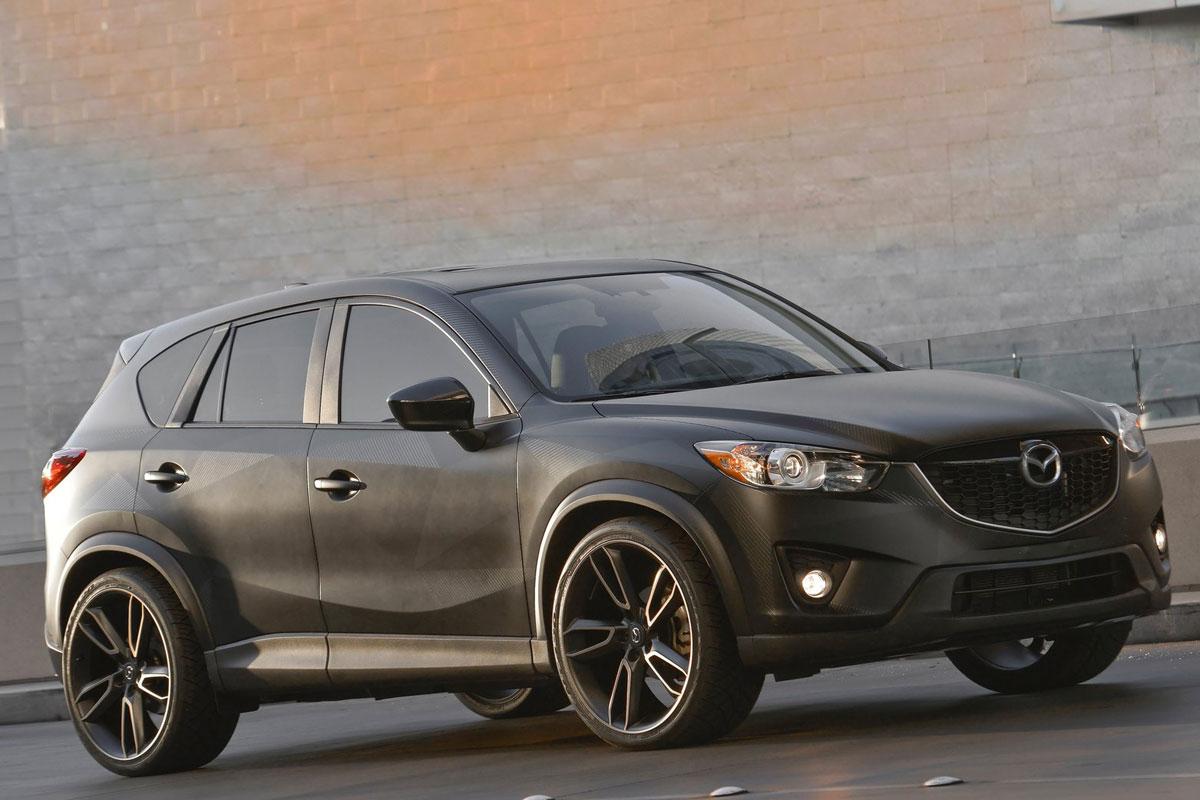Aangepast Trio Mazda Cx 5 Op Sema Show Autonieuws