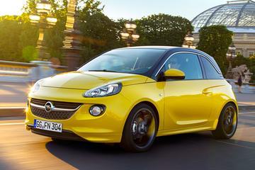 Opel Adam met driecilinder op salon van Genève