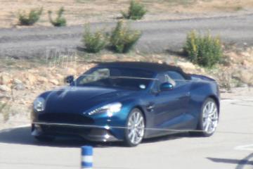 Betrapt: Aston Martin Vanquish ook als Roadster