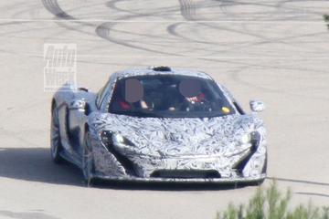 McLaren P1 overwintert onder Spaanse zon