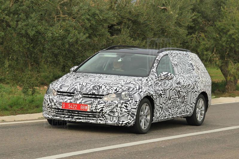 Volkswagen plant Alltrack-versie van Golf Variant