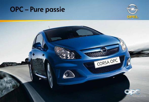 Brochure Opel OPC 2009