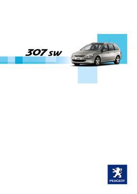 Brochure Peugeot 307 SW 2004