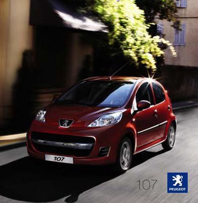 Brochure Peugeot 107 2008