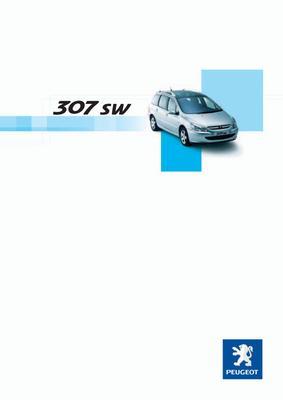 Brochure Peugeot 307 SW 2003