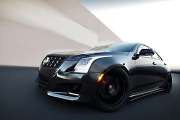 Sinistere Cadillac ATS van D3