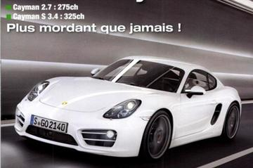 Porsche Cayman is een dag te vroeg